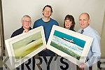 Winners of the Kerry's Eye John Hurley art Competition from left: Bryan Troughton, John Hurley, Artist, Fran O'Connor and Brendan Kennelly, Marketing manager Kerry's Eye.