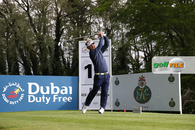 Soren Kjeldsen (DEN) plays to the 17th during Round One of the 2016 Dubai Duty Free Irish Open Hosted by The Rory Foundation which is played at the K Club Golf Resort, Straffan, Co. Kildare, Ireland. 19/05/2016. Picture Golffile | David Lloyd.<br /> <br /> All photo usage must display a mandatory copyright credit as: &copy; Golffile | David Lloyd.