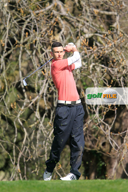 Tommy Walker (Bray) during the Headfort Scratch Cup, Kells, Co Meath 21/4/13.Picture: Thos Caffrey www.golffile.ie...