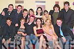 17th: Having a great time at his surprise 17th birthday party in The Grand Hotel, Tralee, on Friday evening was Liam Cleary of Rathoonane (seated third from left), along with family and friends..