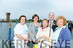 Celebration of Light - In association with the Rose of Tralee International Festival, Recovery Haven Kerry held a Celebration of Light, releasing lanterns on the water at the Tralee Bay Wetlands on Tuesday Pictured were L-R  Philomena Stack, Recovery Haven, Michelle King, The Rose Hotel, Eibhlin Henggeler, The Rose Hotel, Dick Henggeler, The Rose Hotel and Marian Barnes, Recovery Haven