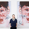 Jenny Saville Exhibition at The Museum of Modern Art, Oxford  CREDIT Geraint Lewis