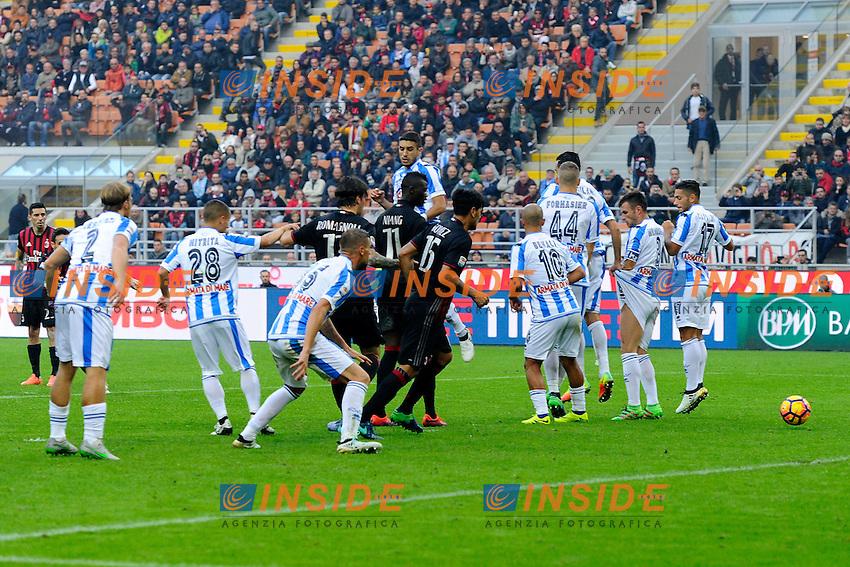 Gol di Giacomo Bonaventura Milan 1-0. Celebration goal<br /> Milano 30-10-2016 Stadio Giuseppe Meazza - Football Calcio Serie A Milan - Pescara. Foto Giuseppe Celeste / Insidefoto