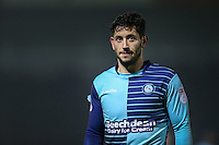 Joe Jacobson of Wycombe Wanderers during the Sky Bet League 2 match between Wycombe Wanderers and Leyton Orient at Adams Park, High Wycombe, England on 17 December 2016. Photo by David Horn / PRiME Media Images.