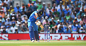 June 18th 2017, The Kia Oval, London, England;  ICC Champions Trophy Cricket Final; India versus Pakistan; Yuvraj Singh of India prepares to play a shot