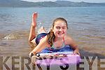 Michael Olszewska, Maja Olszewska, Gosia Olszewska and Agata Krefda, enjoying the summer sunshine at Fenit beach on Tuesday.