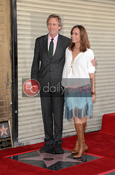 Hugh Laurie, Diane Farr<br /> at the Hugh Laurie Star on the Hollywood Walk of Fame Ceremony, Hollywood, CA 10-25-16<br /> David Edwards/DailyCeleb.com 818-249-4998