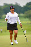 Lizette Salas (USA) after sinking her putt on 9 during round 4 of the KPMG Women's PGA Championship, Hazeltine National, Chaska, Minnesota, USA. 6/23/2019.<br /> Picture: Golffile | Ken Murray<br /> <br /> <br /> All photo usage must carry mandatory copyright credit (© Golffile | Ken Murray)