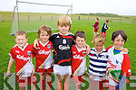 Enjoying the Cul Camp in Castlegregory on Thursday in the local GAA field were: Diarmaid McGearailt, Jack O'Grainne, Sean O'Connell, Dean Goodwin, Rian Tracy and Oisin Dowling.