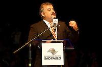 SÃO PAULO, 14 DE MARÇO 2013 - ENCONTRO DE PREFEITOS DO ESTADO DE SÃO PAULO - O Deputado Federal marcio França   durante evento que reuniu Prefeitos do Estado de São Paulo, no Memorial da América Latina, Barra Funda, zona oeste da capital, na manhã desta quinat-feira(14) - FOTO: LOLA OLIVEIRA/BRAZIL PHOTO PRESS