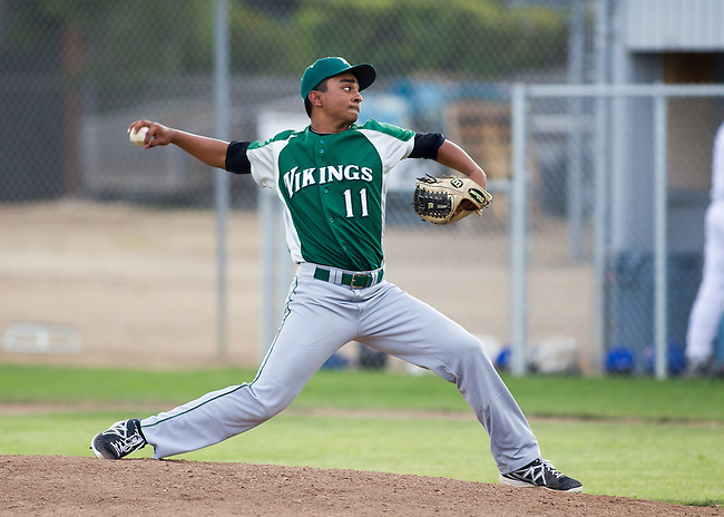 Palo Alto High School at Los Altos High School, boys varsity baseball, March 27, 2013.  Palo Also wins 9-1.