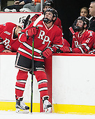 Jared Wilson (RPI - 13), Phil Hampton (RPI - 6) - The Harvard University Crimson defeated the visiting Rensselaer Polytechnic Institute Engineers 5-2 in game 1 of their ECAC quarterfinal series on Friday, March 11, 2016, at Bright-Landry Hockey Center in Boston, Massachusetts.