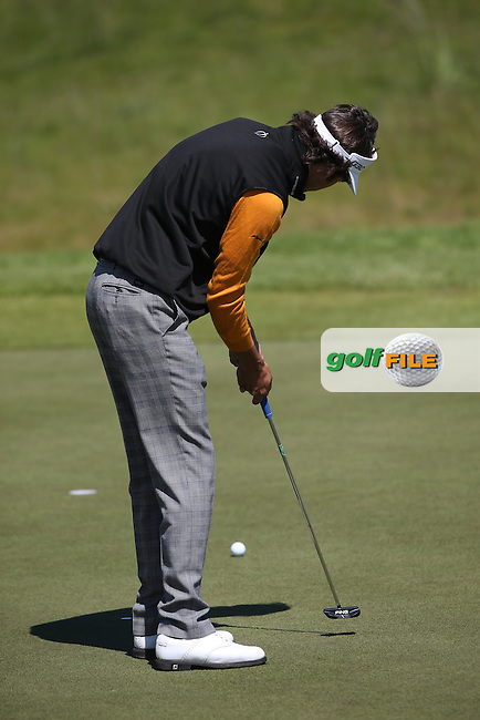 Pedro Oriol (ESP) was up with the leaders during Round Two of the 2015 Nordea Masters at the PGA Sweden National, Bara, Malmo, Sweden. 05/06/2015. Picture David Lloyd | www.golffile.ie