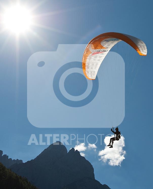 11.09.2010, Lienz, AUT, Redbull Dolomitenmann 2010, im Bild .  Foto: nph /  J. Groder