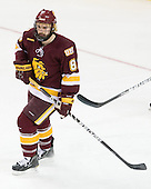 Drew Olson (Duluth - 8) - The University of Minnesota-Duluth Bulldogs defeated the Union College Dutchmen 2-0 in their NCAA East Regional Semi-Final on Friday, March 25, 2011, at Webster Bank Arena at Harbor Yard in Bridgeport, Connecticut.