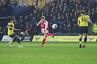 GOAL - Conor McAleny of Fleetwood Town scores the opening goal of the game during the Sky Bet League 1 match between Oxford United and Fleetwood Town at the Kassam Stadium, Oxford, England on 10 April 2018. Photo by David Horn.