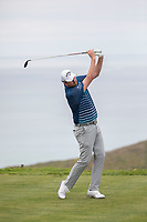 26th January 2020, Torrey Pines, La Jolla, San Diego, CA USA;  Marc Leishman hits off the 17th tee during the final round of the Farmers Insurance Open at Torrey Pines Golf Club on January 26, 2020 in La Jolla, California.