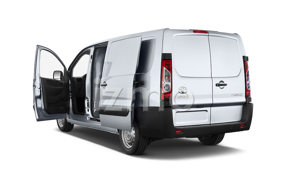 Car images of a 2013 Toyota Proace Comfort 5 Door Cargo Van Doors