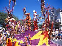 Carnival Parade at Disneyland in Anaheim, California