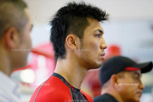 Ryota Murata, August, 2013 - Boxing : Ryota Murata of Japan official practice session at Teiken boxing gym, Tokyo, Japan. (Photo by Yusuke Nakanishi/AFLO SPORT)