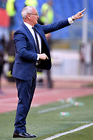Claudio Ranieri coach of AS Roma reacts<br /> Roma 31-3-2019 Stadio Olimpico Football Serie A 2018/2019 AS Roma - Napoli <br /> Foto Andrea Staccioli / Insidefoto