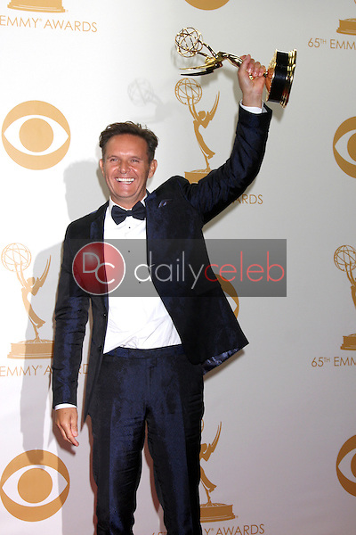 Mark Burnett<br /> at the 65th Annual Primetime Emmy Awards Press Room, Nokia Theater, Los Angeles, CA 09-22-13<br /> David Edwards/DailyCeleb.Com 818-249-4998