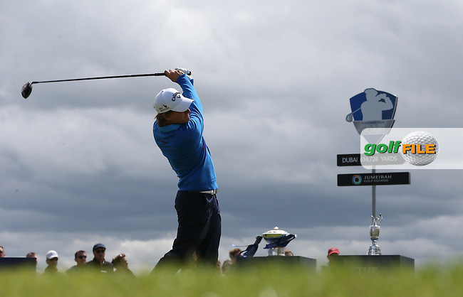 Emiliano Grillo (ARG) starts the Final Round of the 2015 Aberdeen Asset Management Scottish Open, played at Gullane Golf Club, Gullane, East Lothian, Scotland. /12/07/2015/. Picture: Golffile | David Lloyd<br /> <br /> All photos usage must carry mandatory copyright credit (&copy; Golffile | David Lloyd)