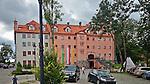 Zamek w Rynie, widok od strony dziedzińca