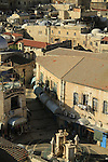 Israel, Jerusalem Old City, a view of the Muristan in the Christian Quarter