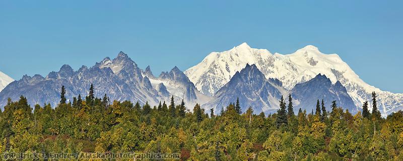Tokosha mountains of the Alaska Range.