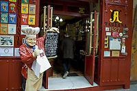 Madrid, Ottobre 2009. Un tipico ristorante spagnolo nel centro di Madrid.