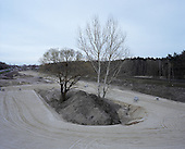 Leczyca 15.04.2015 Poland <br /> Road construction. <br /> Photo: Michal Adamski / Napo Mentor<br /> <br /> Budowa drogi.<br /> Photo: Michal Adamski / Napo Mentor