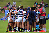 Auckland v Counties Manukau Women. Day one of the 2018 Bayleys National Sevens at Rotorua International Stadium in Rotorua, New Zealand on Saturday, 13 January 2018. Photo: Dave Lintott / lintottphoto.co.nz