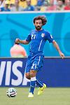 Andrea Pirlo (ITA), JUNE 24, 2014 - Football / Soccer : FIFA World Cup Brazil 2014 Group D match between Italy 0-1 Uruguay at Estadio das Dunas in Natal, Brazil. (Photo by Maurizio Borsari/AFLO)