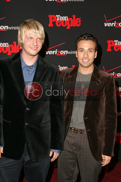 Nick Carter and Howie Dorough<br />