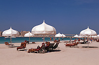 Vereinigte arabische Emirate (VAE, UAE), Dubai, Strand des Hotel One & Only Royal Mirage
