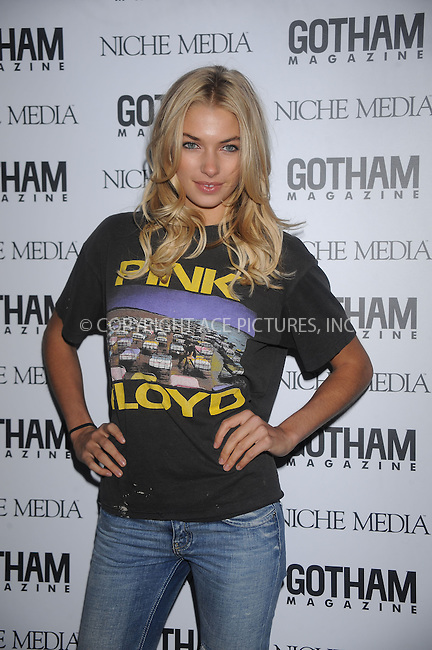 WWW.ACEPIXS.COM . . . . . ....November 18 2008, New York City....Model Jessica Hart arriving at the Gotham Magazine Gala at Escape on November 18 2008 in New York City....Please byline: KRISTIN CALLAHAN - ACEPIXS.COM.. . . . . . ..Ace Pictures, Inc:  ..(646) 769 0430..e-mail: info@acepixs.com..web: http://www.acepixs.com