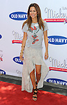 "Brooke Burke at the ""Mickey Through The Decades Collection Launch"" co-hosted by Disney and Old Navy at the Walt Disney Studio Lot on July 13, 2013."