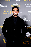 Rayane Bensetti<br /> Parigi 3-12-2018 <br /> Arrivi Cerimonia di premiazione Pallone d'Oro 2018 <br /> Foto JB Autissier/Panoramic/Insidefoto <br /> ITALY ONLY