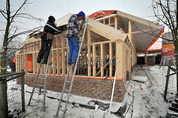 Houtskeletbouw nieuwbouw bouwnijverheid ton borsboom for Houtskelet schuur