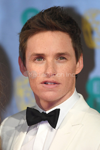 LONDON, ENGLAND - FEBRUARY 12: Eddie Redmayne attends the 70th EE British Academy Film Awards (BAFTA) at Royal Albert Hall on February 12, 2017 in London, England.<br /> CAP/BEL<br /> &copy;BEL/Capital Pictures /MediaPunch ***NORTH AND SOUTH AMERICAS ONLY***
