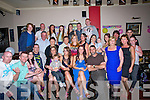 DOUBLE: Double celebrtations in The Sliabh Mish Bar, Tralee on Saturday nioght as Caroline Brosnan celebrated her 18th birthday and Clodagh Brosnan celebrated her 18th birthfday with her family and friends (caroline is seated 3rd from left and clodagh is seated 2nd from right)