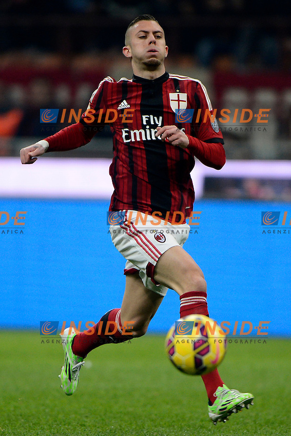 Jeremy Menez Milan<br /> Milano 27-01-2015 Stadio Giuseppe Meazza - Football Calcio Coppa Italia Milan - Lazio. Foto Giuseppe Celeste / Insidefoto