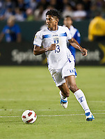 CARSON, CA – June 6, 2011: Honduran Carlo Costly (13) during the match between Guatemala and Honduras at the Home Depot Center in Carson, California. Final score Guatemala 0, Honduras 0.