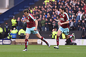 22/04/2016 Sky Bet Championship Preston North End v Burnley<br /> Joey Barton celebrates after scoring Burnley's goal