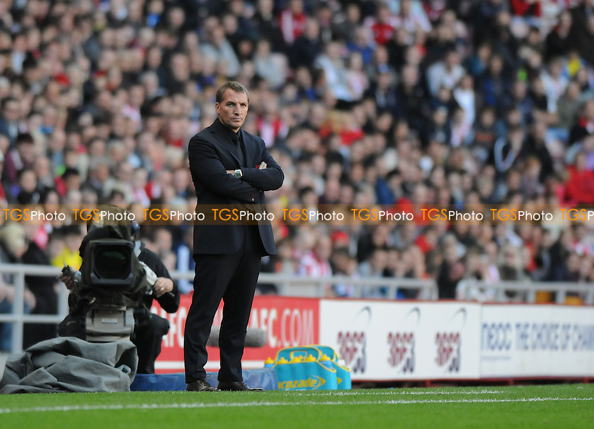 Liverpool manager Brendan Rodgers - Sunderland vs Liverpool - Barclays Premier League Football at the Stadium of Light, Sunderland - 29/09/13 - MANDATORY CREDIT: Steven White/TGSPHOTO - Self billing applies where appropriate - 0845 094 6026 - contact@tgsphoto.co.uk - NO UNPAID USE<br />   i