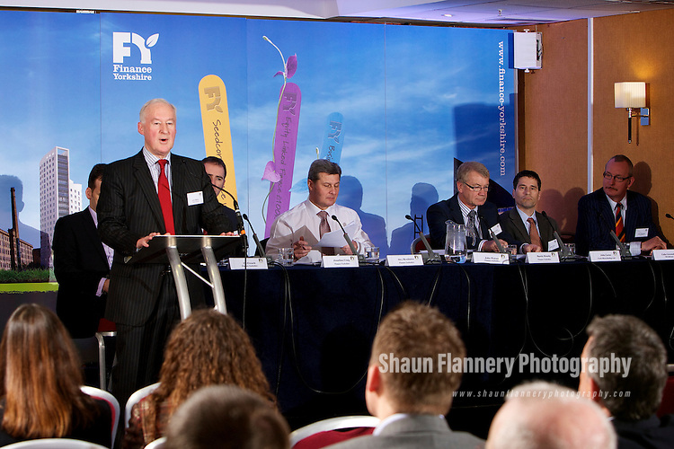 Pix: Shaun Flannery/shaunflanneryphotography.com...COPYRIGHT PICTURE>>SHAUN FLANNERY>01302-570814>>07778315553>>..8th March 2012..Finance Yorkshire Roadshows 2012..York Marriott, Tadcaster Road..John Watson, Finance Yorkshire.