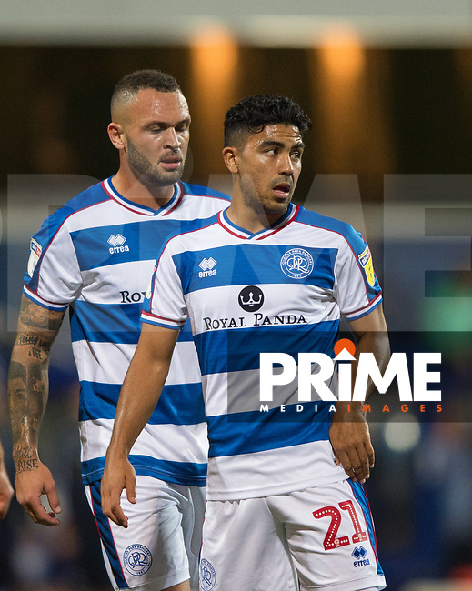 QPR Massimo Luongo during the Sky Bet Championship match between Queens Park Rangers and Millwall at Loftus Road Stadium, London, England on 19 September 2018. Photo by Andrew Aleksiejczuk / PRiME Media Images.