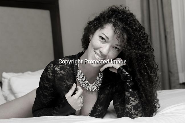 Boudoir Photo shoot with Ms. Simone