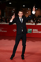 L'attore Ostap Vakulyuk posa sul red carpet per la presentazione del film &quot;Eter&quot; al Festival Internazionale del Film di Roma, 19 ottobre 2018.<br /> Actor Ostap Vakulyuk poses on the red carpet of the movie &quot;Eter&quot; during the international Rome Film Festival at Rome's Auditorium, on October 19, 2018.<br /> UPDATE IMAGES PRESS/Isabella Bonotto